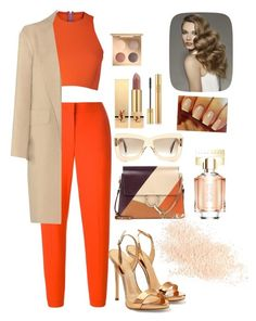 """Untitled #191"" by eloismbemba on Polyvore featuring Sydney-Davies, MSGM, Giuseppe Zanotti, Alexander Wang, Chloé, Roksanda, Yves Saint Laurent, HUGO and Eve Lom"