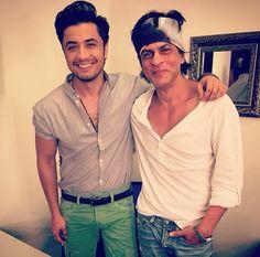 Srk with Ali Zafar