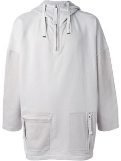 Blood Brother Zip Pocket Hoodie - Blood Brother - Farfetch.com