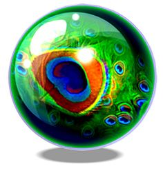 """Play Marbles """"wilds"""" Marble by Play Marbles, via Flickr"""