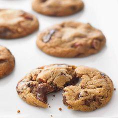 Chocolate Chunk and Almond Cookies | MyRecipes