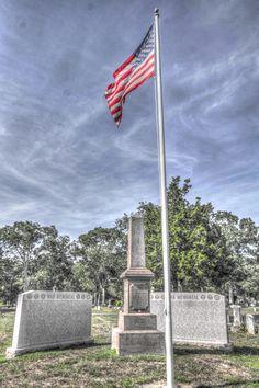 Westhampton New York War Memorial, Westhampton Cemetery, (08/09/2016) HDR