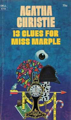 13 Clues for Miss Marple (1971) by Book Covers: Vintage Paperbacks, Mars Sci-Fi, via Flickr
