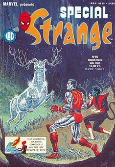 Couverture de Spécial Strange -50- Spécial Strange 1987