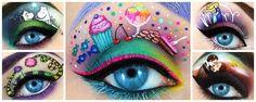 maquillaje de ojos de animales - Buscar con Google