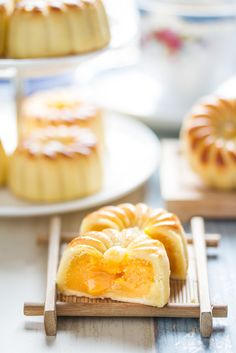 Mooncake Guide: Mini Custard Lava with Vanilla