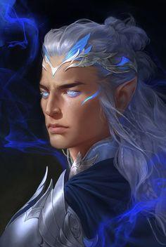 Fantasy Male, Fantasy Rpg, Medieval Fantasy, Dark Fantasy Art, Fantasy Artwork, Fantasy Character Design, Character Concept, Character Art, Concept Art