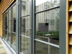 Contemporary timber French Casement Doors