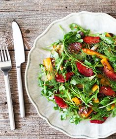 Superfood Salads - Work Week Lunch Recipes | These superfood salads will keep you going strong through the holiday season. #refinery29 http://www.refinery29.com/super-food-salads