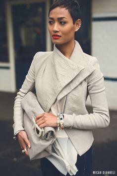 Fierce jacket and cut