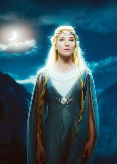 凯特·布兰切特 Cate Blanchett饰魔戒精灵女王盖拉德丽尔