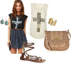 """""""College Clothes 11"""" by dylanelise on Polyvore"""