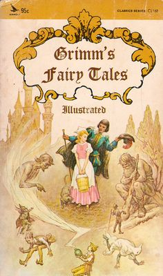 Grimm's Fairy Tales (Illustrated) - a vintage book