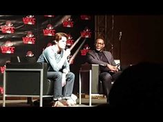 "Vienna Comic Con 2018 - Eugene Simon - Game Of Thrones Panel My question was: ""Who do u want to see on the Iron Throne and why?"" Eugene Simons Answer is real. Eugene Simon, Iron Throne, Vienna, Game Of Thrones, Interview, Comics, Games, Concert, Videos"