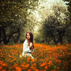 Untitled by Alexandr Shajunov #bokeh #portrait #flowers