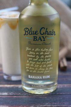 Cocktail recipe for Boozy Bananas Foster with Blue Chair Bay Banana Rum #blogtendernation #bluechairbayrum #bcb