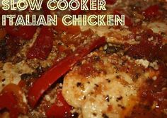 italian crocpot chicken