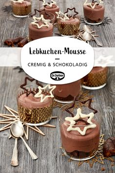 Lebkuchen-Mousse - Weihnachts Entwürfe - Miss Reva Hartmann MD - Dessert Recipes Berry Smoothie Recipe, Easy Smoothie Recipes, Snack Recipes, Dessert Recipes, Cake Mix Cookies, Cookies Et Biscuits, Cake Choco Banane, Coconut Milk Smoothie, Homemade Frappuccino
