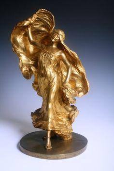 Statues, Art Nouveau, Lion Sculpture, Auction, Bronze, Sculptures, Effigy