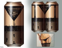 Lingerie Beers Cans