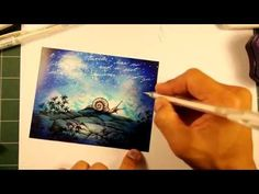 ▶ Stampscapes 101: Video 91. Night Traveler. - YouTube