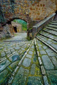 Stairs, Pitigliano, Tuscany, Italy   besttravelphotos.me