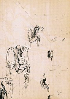 H.R. Giger, Una comilona para el psiquiatra