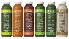 Suja Organic Juices product review and giveaway! Click on the pin for a chance to win these refreshing juices!