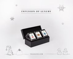 Stay tuned for the release of our beautiful new tea gift collections, curated for the holiday season!