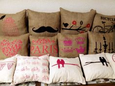 Almohadones decorativos By Gara Deco!