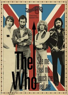 Vintage Music Art Poster - The Who Stonehenge 1978 - 02777 – The Vintage Music Poster Shop Pop Rock, Rock And Roll, Art Music, Music Artists, Music Lyrics, 70s Artists, Rock Festival, Concert Rock, Vintage Concert Posters