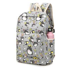 Miyazaki Hayao Totoro Kawaii Travel School Backpack - OtakuForest.com