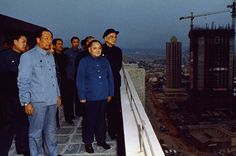 """Deng Xiaoping visits Shenzhen. """"Socialism with Chinese Characteristics""""."""