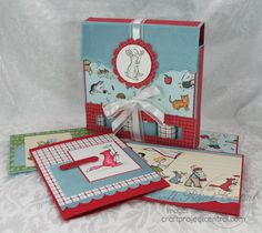 Storybook Friends card and candy box by needmorestamps - Cards and Paper Crafts at Splitcoaststampers