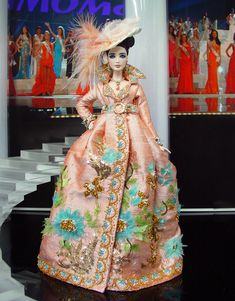 Miss South Korea 2013/2014, sold, inspired by Galliano for Dior, $1000