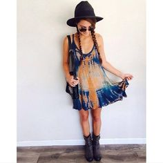 Summer Style: Dirty Laundry Showstopper boot with @loversfriendsla dress. #chineselaundry #ootd