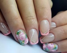 Ideas de manicura para este verano... ❤️❤️ #manicura #belleza #estilo #manicure #beauty #verano #summer #fashion #chic  #beautiful #nail #color