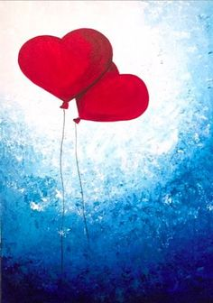 Love the background Easy Canvas Painting, Heart Painting, Love Painting, Easy Paintings, Kids Canvas, Canvas Art, Valentines Art, Paint And Sip, Paint Party