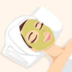 Illustration about Woman having acne treatment with natural facial green mask to clean face skin. Illustration of cosmetic, acne, natural - 35402493 Spa Facial, Natural Facial, Facial Massage, Facial Masks, Acne Facial, Beauty Care, Beauty Skin, Facial Treatment, Clean Face