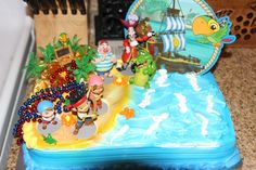 jake and the neverland pirate cake ideas | Jake and Neverland Pirates Cake