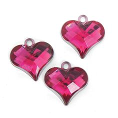 Heart Charms - OrientalTrading.com