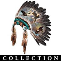Native American Inspired Eagle Art Wall Decor Collection - Sacred Tribal Spirits With Eagle Art Wall Decor Collection - Native American Headdress, Native American Decor, Native American Fashion, American Indians, Native American Bedroom, American Indian Girl, American Clothing, American Symbols, American History