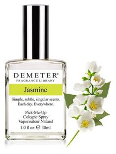 My favorite scent to wear...jasmine...is perfectly captured here. It was a long search to find the right jasmine smell that didn't overwhealm or change over time. Demeter got it just right.