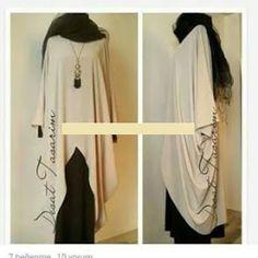 Dikiş Kalıpları ve Patronları: KOLAY TESETTUR ELBISE DIKIMI KALIPLARI Abaya Fashion, Muslim Fashion, Fashion Dresses, Maternity Shirt Dress, Maternity Fashion, Hijab Gown, Mode Abaya, Abaya Designs, Tunic Pattern