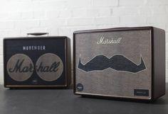 #Movember & Marshall Amps