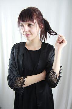 Lace Kimono, Clothing, Creative, Woman