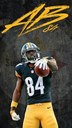 antonio brown color rush jersey mens
