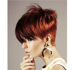 short messy haircuts hairstyles back view length asymmetrical pixie 1265 | 6e2d9f1265d306a77c05484a9f79ec2f short red hairstyles short pixie haircuts