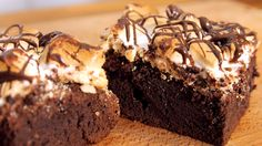 S'Mores Brownies Rezept als Back-Video zum selber machen! Ganz einfach Schritt für Schritt erklärt!