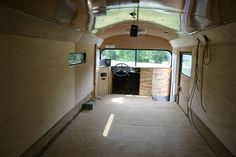 Skewly - School bus to Recreational Vehicle (RV) Conversion Site